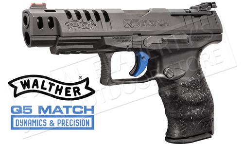 Walther PPQ Q5 Match Optic Ready 9mm Pistol #2813336