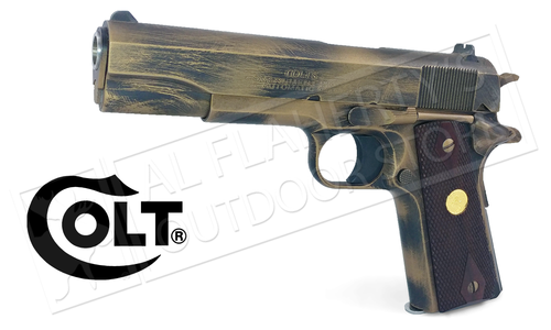 "Colt 1911 Government Model 5"" 45ACP - Battle Worn Bronze Cerekote #o1991B/W"