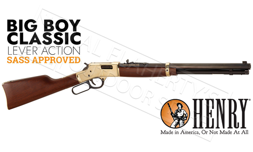 Henry Big Boy Classic Lever-Action Rifle, Various Calibers #H006