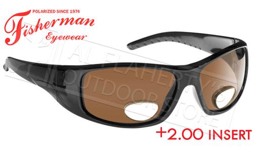 Fisherman Eyewear Polar View Bi-Focal Sunglasses +2.00 #90756N