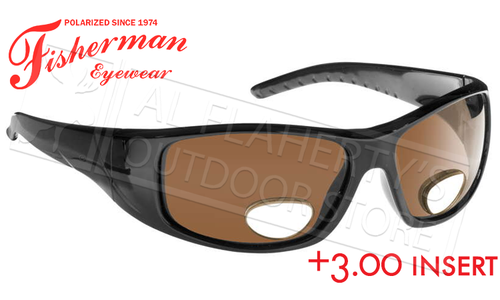 Fisherman Eyewear Polar View Bi-Focal Sunglasses +3.00 #90757N