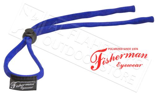 Fisherman Eyewear Soft Retaining Cord for Glasses, Blue #90963