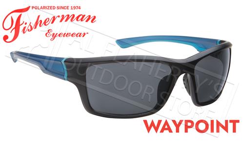 Polarized Lens Gray Blue Mirror Fisherman Eyewear Riptide Sunglass Medium//Large 96100714 Blue-Fade Frame