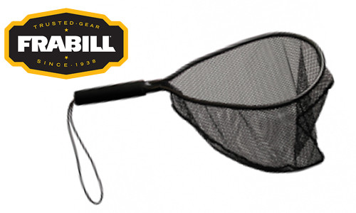 """Frabill Teardrop Trout Net, 11"""" x 15"""" with 5"""" Fixed Handle #3401"""