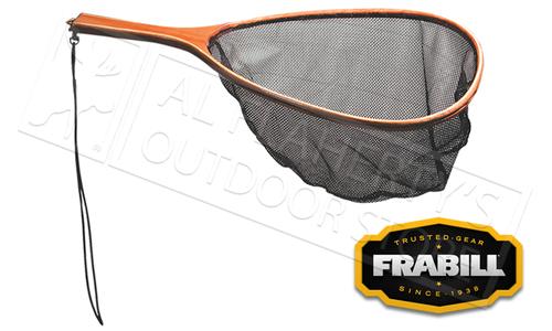 """Frabill Teardrop Trout Net, 8"""" Wood Handle #3404"""