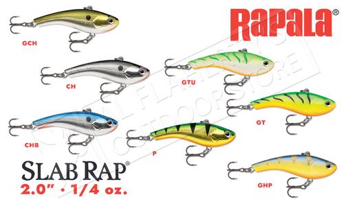Rapala Slab Rap, 2 Inch 1/4 oz #SLR05