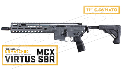 "SIG Sauer Carbine MCX Virtus SBR 5.56 NATO With 11"" Barrel #SIGRMCX11BTAPSBR"