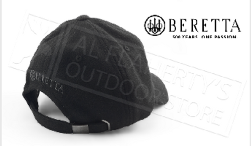 Beretta Wool Trident Embroidered Baseball Hat in Black #BC501T15130999