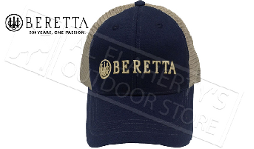 Beretta Patch Trucker Hat in Navy #BC06201660