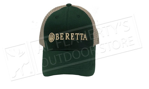Beretta Trident Trucker Hat in Green # BC052016600700
