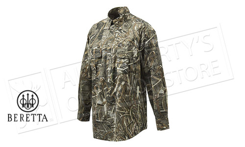 Beretta TM Shooting Shirt Long Sleeve Real Tree Max-5 Camo
