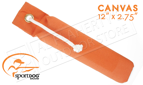 "SportDOG Lucky Dog Training Canvas Dummy, Regular Size 12"" #SAC30-13306"