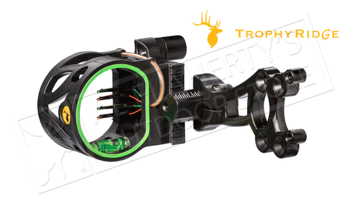 "Trophy Ridge Joker 4-Pin Bow Sight, 0.019"" Pins #AS108"