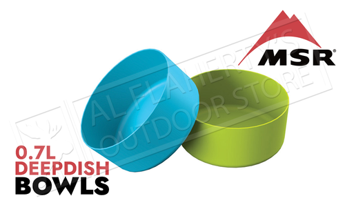 MSR DeepDish Bowls, Green or Blue
