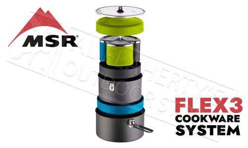 MSR Flex 3 Cookware System #05995