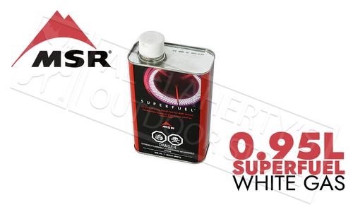 MSR Superfuel White Gas, 1 Quart / .95 Liters #322020