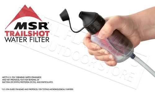 MSR TrailShot Pocket-Sized Water Filter #82722