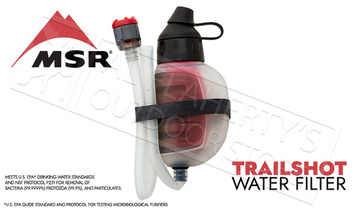MSR TrailShot Pocket-Sized Water Filter #82722