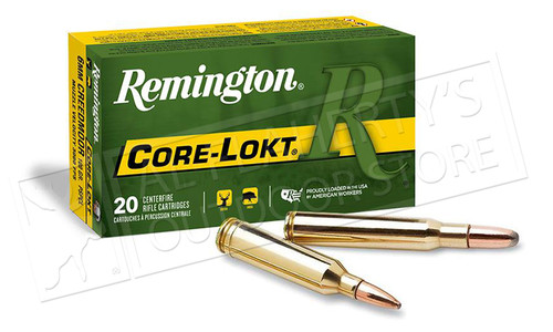 Remington 308 WIN Core-Lokt, PSP 180 Grain Box of 20 #R308W3