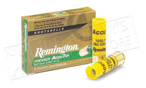 "Remington Premier AccuTip Bonded Sabot Slugs 20 Gauge 2-3/4"", Box of 5 #PRA20"