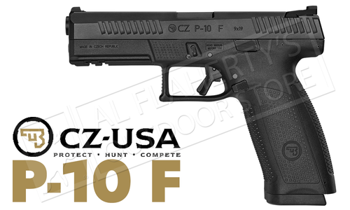 CZ Handgun P10 F Full Sized Striker Fire 9mm