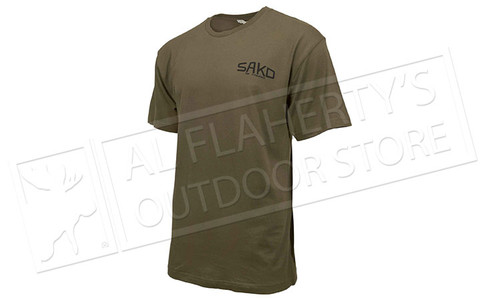 Sako T-Shirt Old Skool in Green Sizes M-XXL #TS850T6024078K