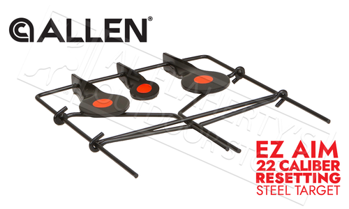Allen EZ Aim Metal Spinner Target for 22 Caliber Rifles, Pistols, and Airguns #15265