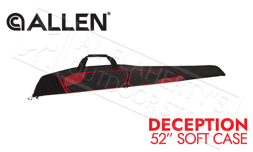 "Allen Deception Shotgun Soft Case 52"" Black/Red #626-52"