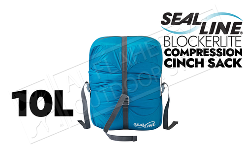 SealLine Blockerlite Compression Cinch Sacks, 10L #09820