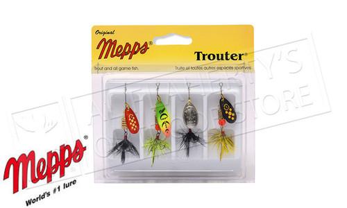 Mepps Kit - Trouter 4-Pack, Dressed #4-K1D