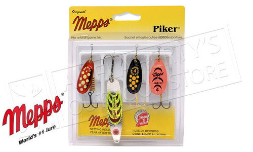 Mepps Kit - Piker 4-Pack #4-K3