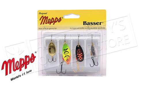 Mepps Kit - Basser 4-Pack, Undressed #4-K2