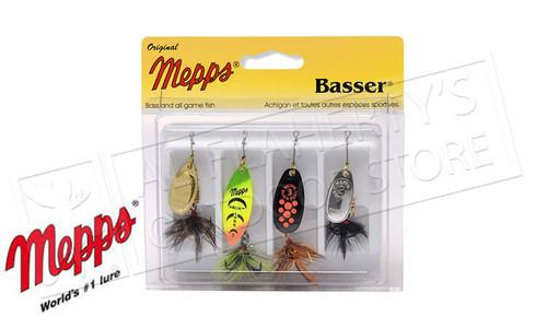 Mepps Kit - Basser 4-Pack, Dressed #4-K2D