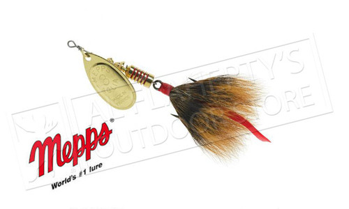 Mepps Aglia Spinners, Inline, Dressed Hook, Size 3, 1/4 Oz. #B3D