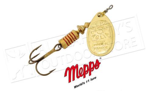 Mepps Aglia Spinners, Inline, Plain Treble, Size 4, 1/3 oz. #B4