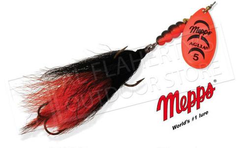 Mepps Aglia Tandem Spinners, Inline, Bucktail Trebles, Size 5, 7/8 oz. #B5TB