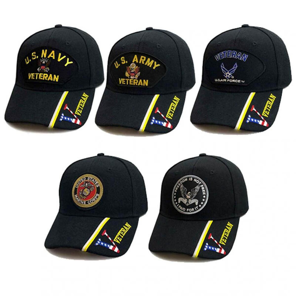 Army Navy Air Force Marines Coast Guard Hats