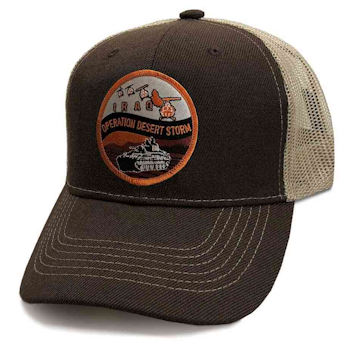 Military Hat Club Monthly Hat Desert Storm