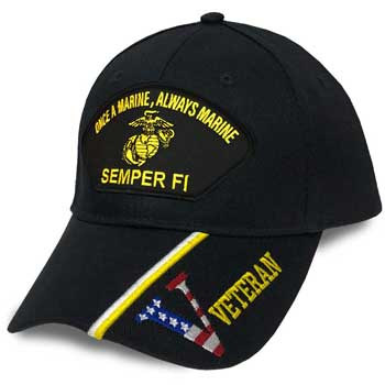Military Hat Club Monthly Hat Marines
