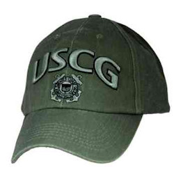 Military Hat Club Monthly Hat Coast Guard