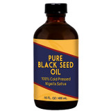 Herbal Tea House 100% Pure Cold Pressed BLACK SEED OIL 16oz