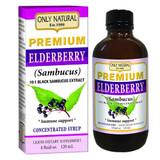 Only Natural's Premium Elderberry Immune Support Syrup 4 Fl. Oz
