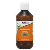 NOW Elderberry Liquid for Kids 8oz