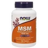 NOW MSM 1500mg Tablets (Methylsulfonylmethane) 100ct