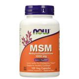 NOW MSM Methylsulfonylmethane 1000mg 120 Veg Capsules