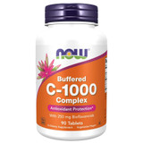 NOW Vitamin C-1000 Complex Buffered Tablets 90 Tabs