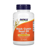 OW Foods -Black Cumin Seed Oil Cardiovascular Support 1000 mg 60 Softgels