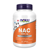 NOW Foods NAC 1000 mg Tablets