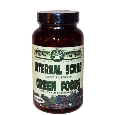 Internal Scrub Green Foods Capsules