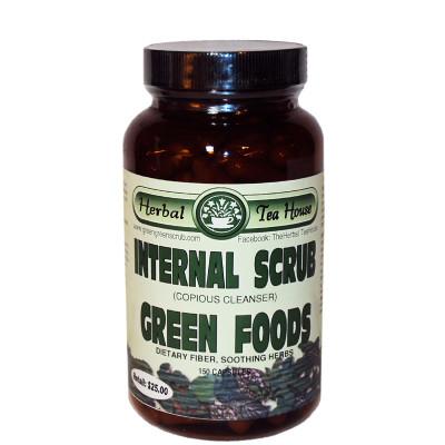 Internal Scrub Green Foods Capsules